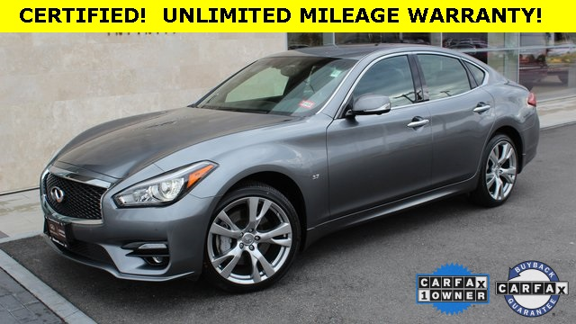 Certified Pre-Owned 2017 INFINITI Q70 3.7X