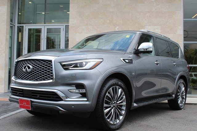 New 2019 Infiniti Qx80 Luxe 4wd Suv In Nashua N3069 Infiniti Of