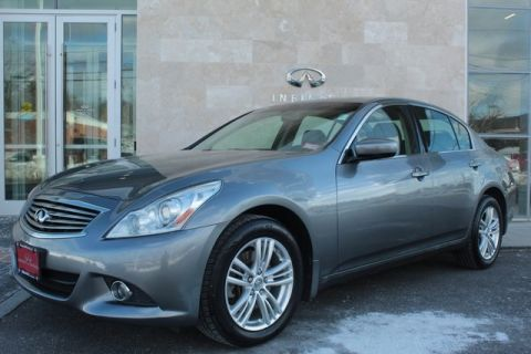 Pre-Owned 2011 INFINITI G25 X