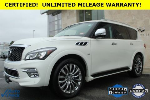 Certified Pre-Owned 2015 INFINITI QX80