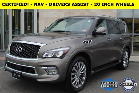 Certified Pre-Owned 2017 INFINITI QX80 AWD