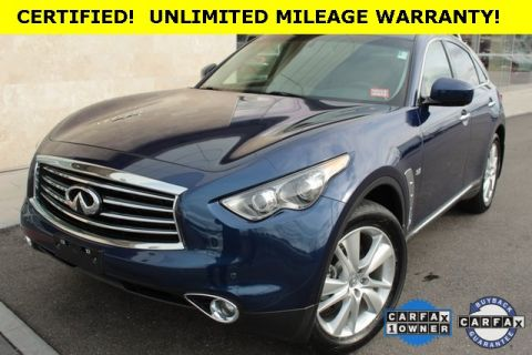 Certified Pre-Owned 2015 INFINITI QX70